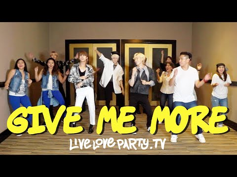 Give Me More | VAV tries Zumba® | Live Love Party™ | Dance Fitness