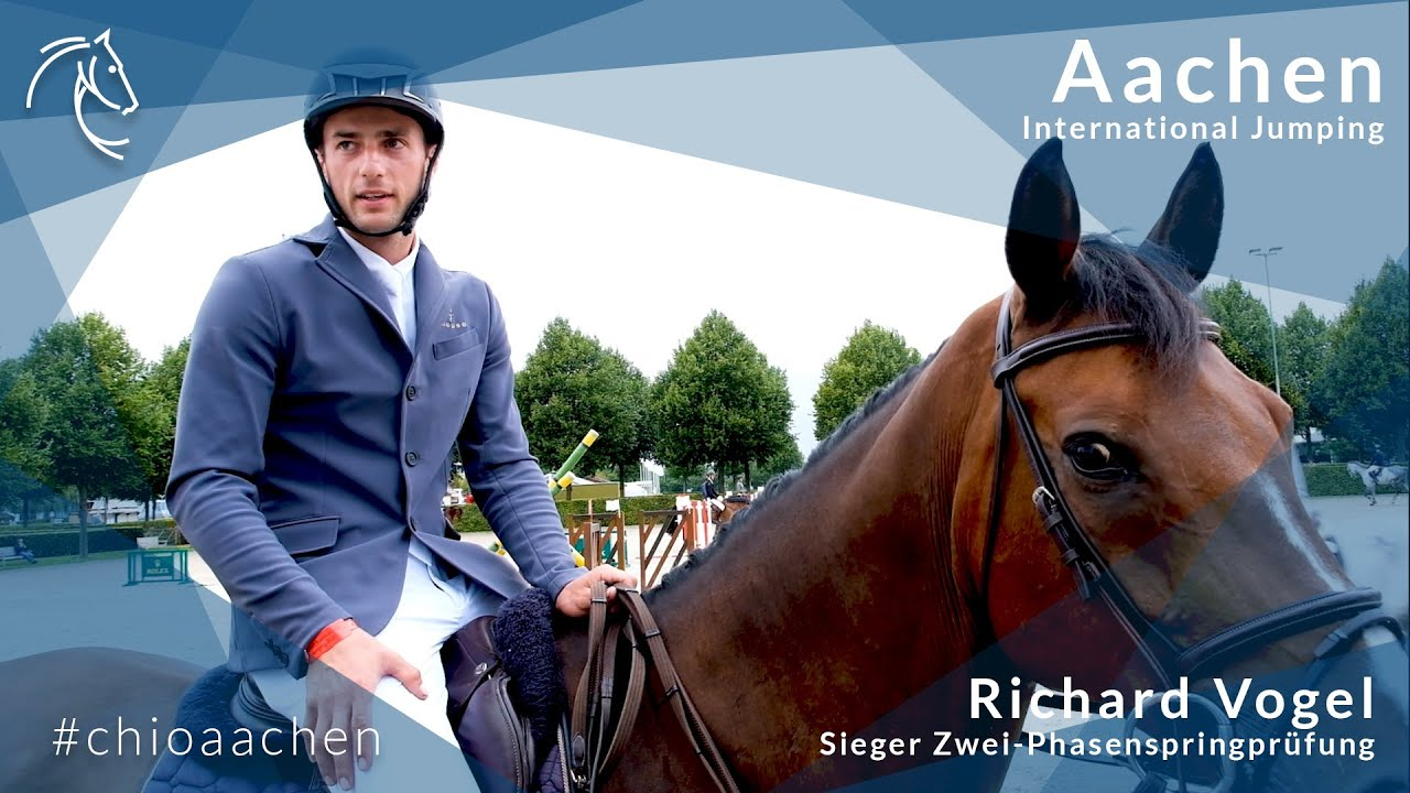 Richard Vogel & Lesson Peak School the Competition in Two-Phase Challenge  CSI 3* at Aachen – JUMPER NEWS