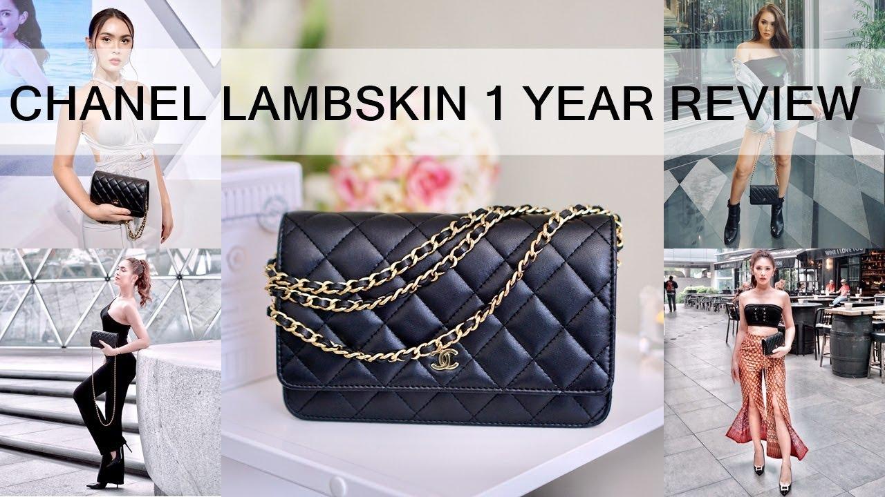 Review : Chanel Lambskin หลังใช้ 1 ปี เป๊ะหรือพัง? | Jossy Berry