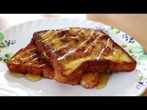Eggless French Toast | Kitchen Time With Neha
