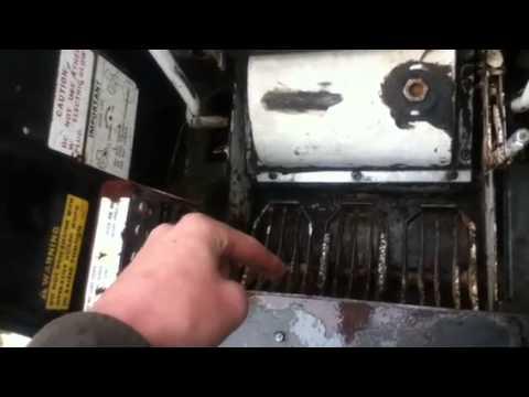 Bobcat 825 slow hydraulics and milky fluid  YouTube