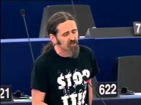 Irish MEP Luke Ming Flanagan on lies about the TTIP (Transatlantic Trade and Investment Partnership)
