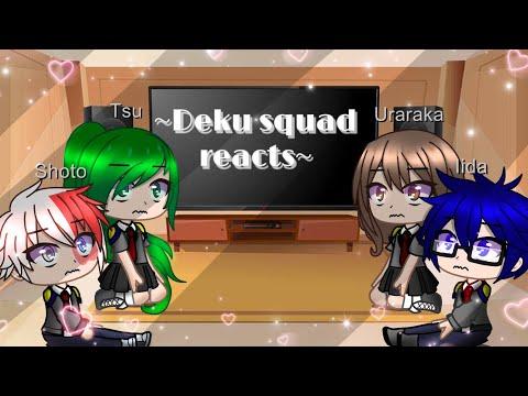 Deku squad reacts to my Translation Meme