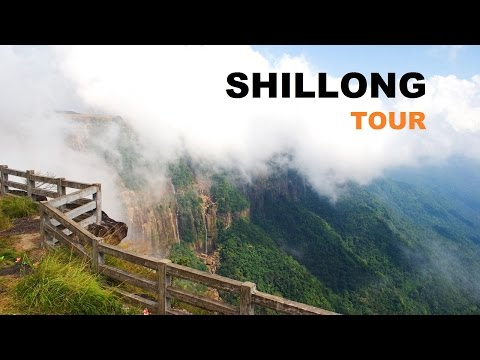 Guwahati to Shillong | Cherrapunji Tourist Attractions | awesome side view