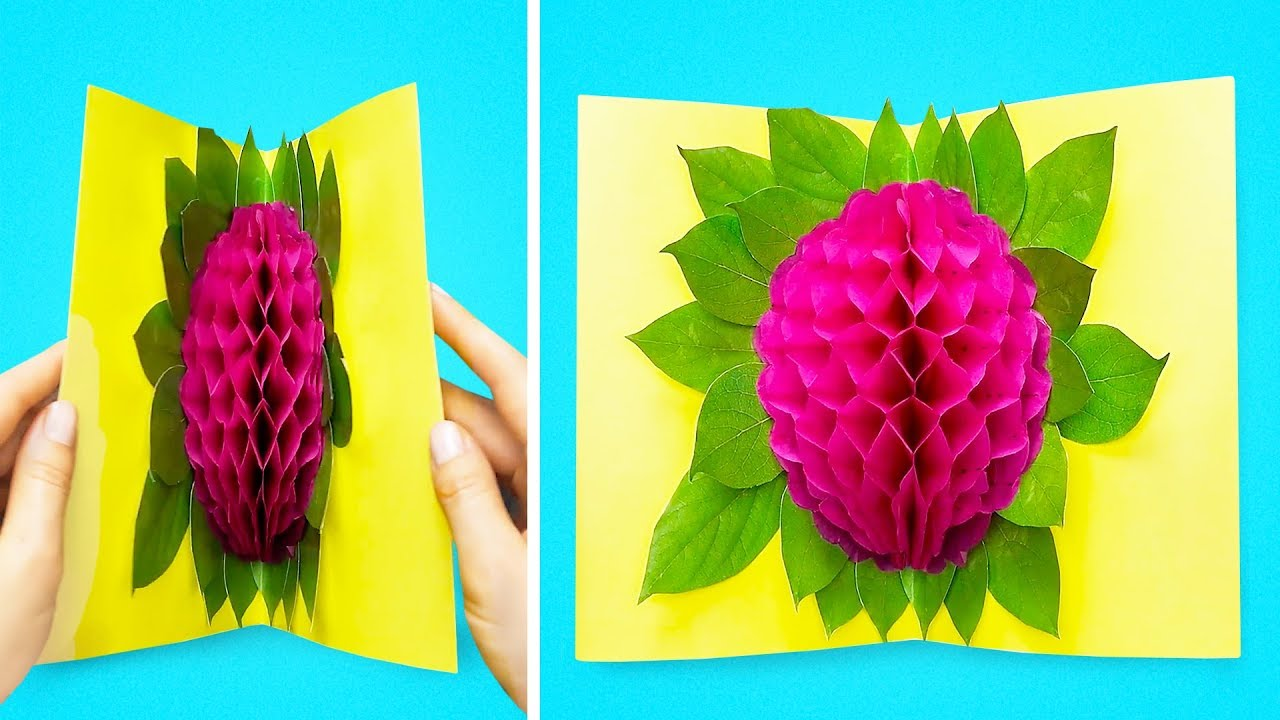 14 Creative Paper Crafts And Hacks Youtube
