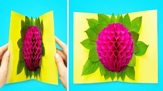 14 CREATIVE PAPER CRAFTS AND HACKS
