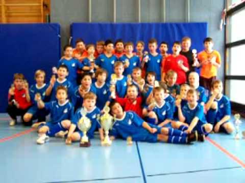 Sinsheimer Stadtmeisterschaften. Sieger die TSG-Junior-Kicker.