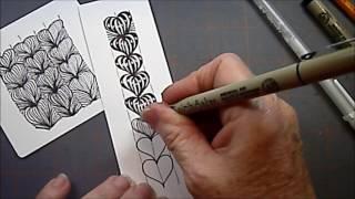 Heartstrings Tangle Pattern Lesson #135