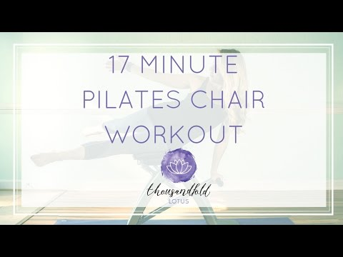 Pilates Chair Workout: 17 Minutes