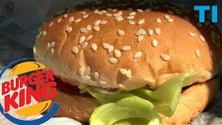 WHOPPER Jr Burger King TEST JEDZENIA