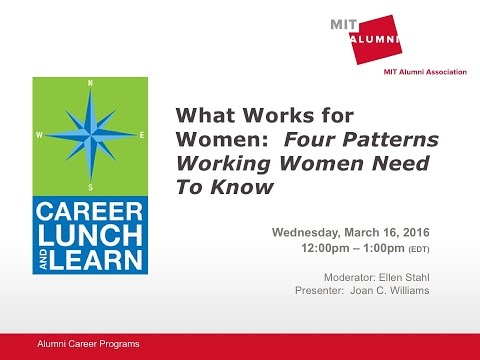 Career Lunch & Learn: What Works for Women at Work