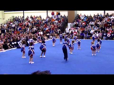 Spirit Explosion - Flames Showcase - Burlington Township High School Nov 2012