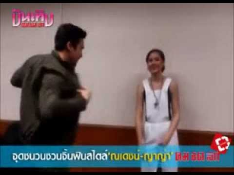 Nadech & Yaya's interview  for kcl [eng sub]