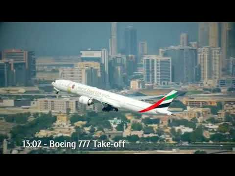 Emirates Airbus A380 & Boeing 777 formation flight | Corporate Travel Concierge