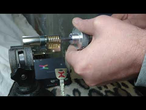 Взлом отмычками CISA AP4  Cisa AP4 lockpicking