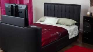 Ravel Tv Bed Luxury Bed - Double  & King Size