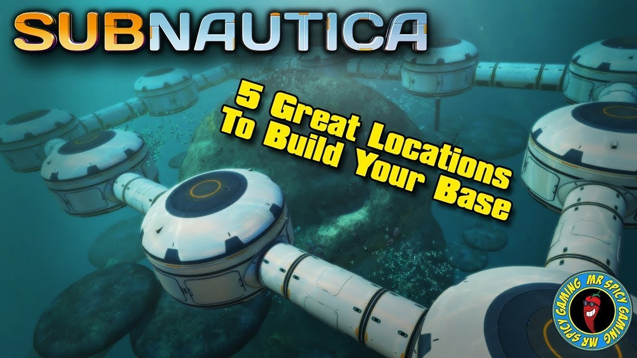 5 Great Locations To Build Your Base Subnautica Tips Tricks