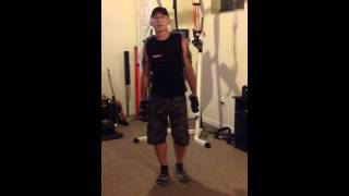 substitution for pour flys p90x chest shoulders and triceps disc
