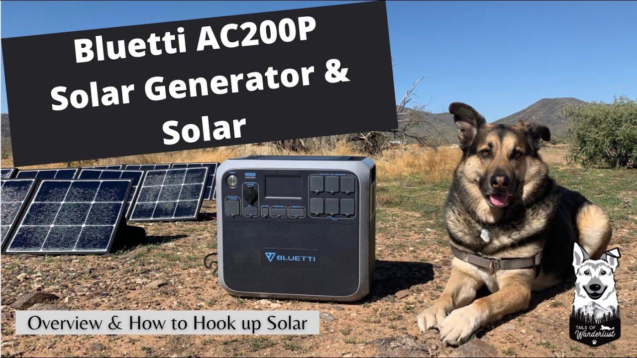 Bluetti AC200P + Solar: Portable Solar Generator Review by a Full-Time RVer