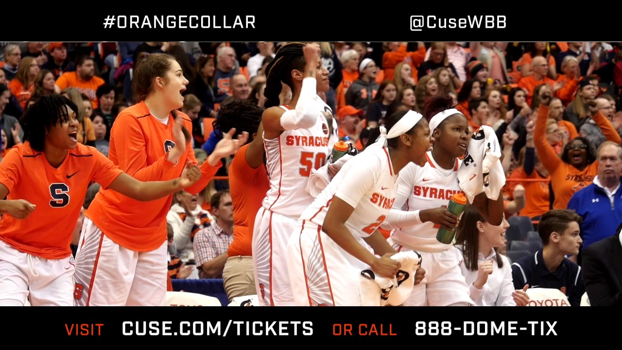 Syracuse Women S Basketball Vs Notre Dame Promo Youtube