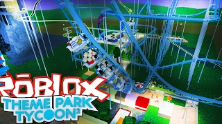 NEW QUICK QUEUE!  | THEME PARK TYCOON 2 [7] | ROBLOX #45