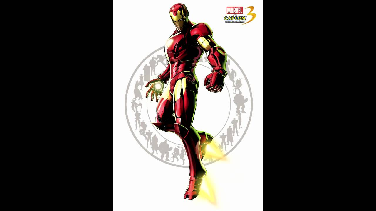 Marvel Vs Capcom 3  Theme Of Iron Man Youtube