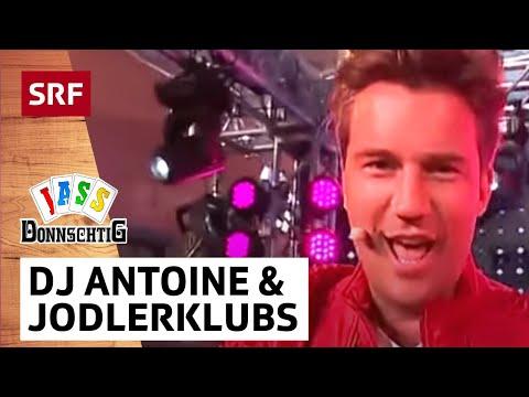 DJ Antoine «Ma chérie» mit Jodlerklubs Ahori Brig-Glis und Zer Tafernu - Donnschtig-Jass