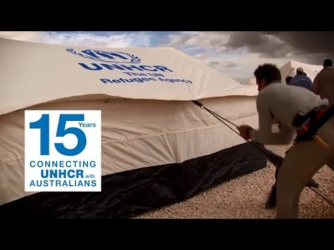 15 Years of Australians helping refugees: Australia for UNHCR