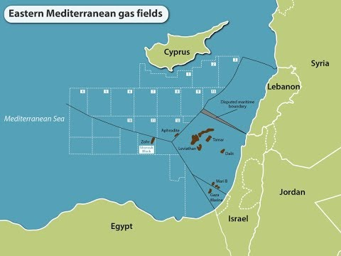 Gas Fields In The Mediterranean And The Key Players In This Region
