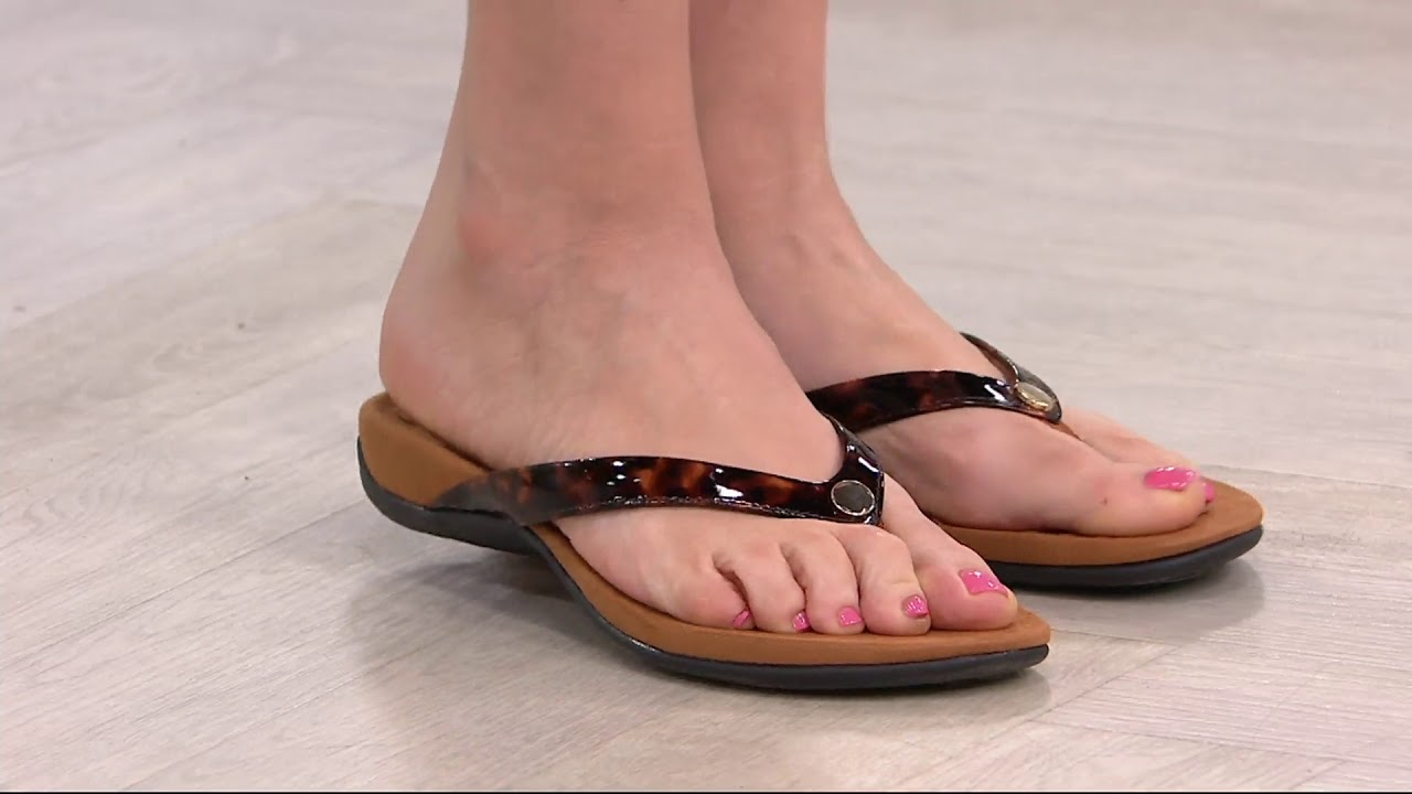 5ca398d614f Vionic thong sandals button mona on youtube jpg 1280x720 Vionic sandals mona