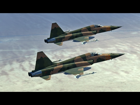 Let's Fly | DCS | F-5E Training in Nevada