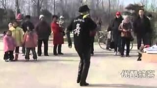 70 year old man perform mike jackson dances