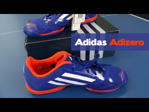 Adidas Adizero Schuhe Blau Unboxing & Short Review TT