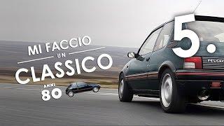 Peugeot 205 1.9 GTi | Bella e ruggente: la PROVA! #MIFACCIOUNCLASSICO [5/5]