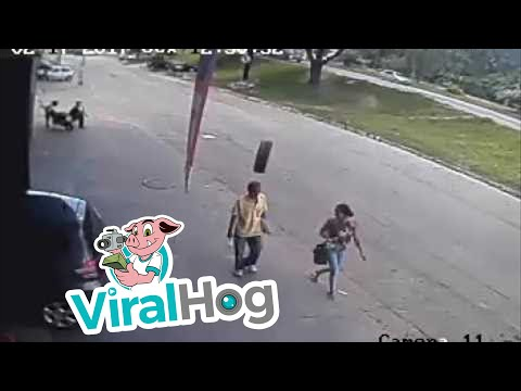 Thumbnail: Pedestrian Struck by Tire