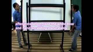 Whiteboard Mobile Stand Installation(english Version)