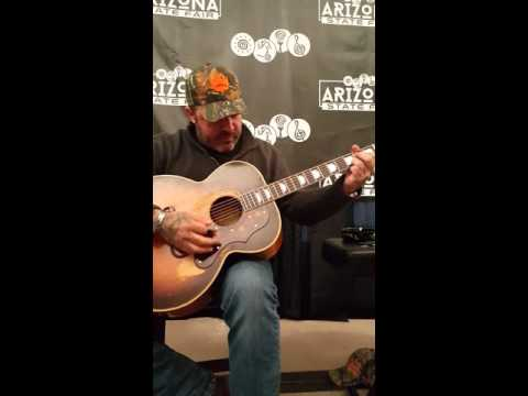 Aaron Lewis at AZ State Fair- special Meet and Greet acoustic session