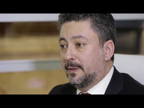 Turhan Ozen, Chief Cargo Officer, Turkish Airlines, speaks to STAT Trade Times at ACA 2017