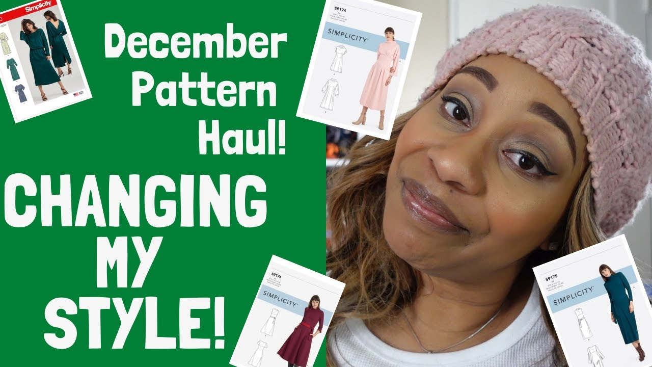 Changing My Style - December Pattern Haul