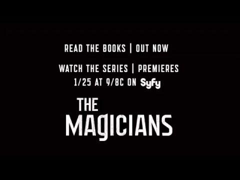 THE MAGICIANS Syfy TV Tie-In - Book Trailer