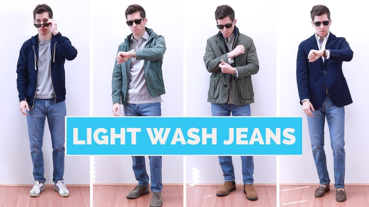9499b862aff 4 Ways to Wear Light Wash Jeans