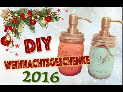 weihnachtsgeschenkideen diy 2016 einfach f r m nner frau alle styleu channel youtube. Black Bedroom Furniture Sets. Home Design Ideas