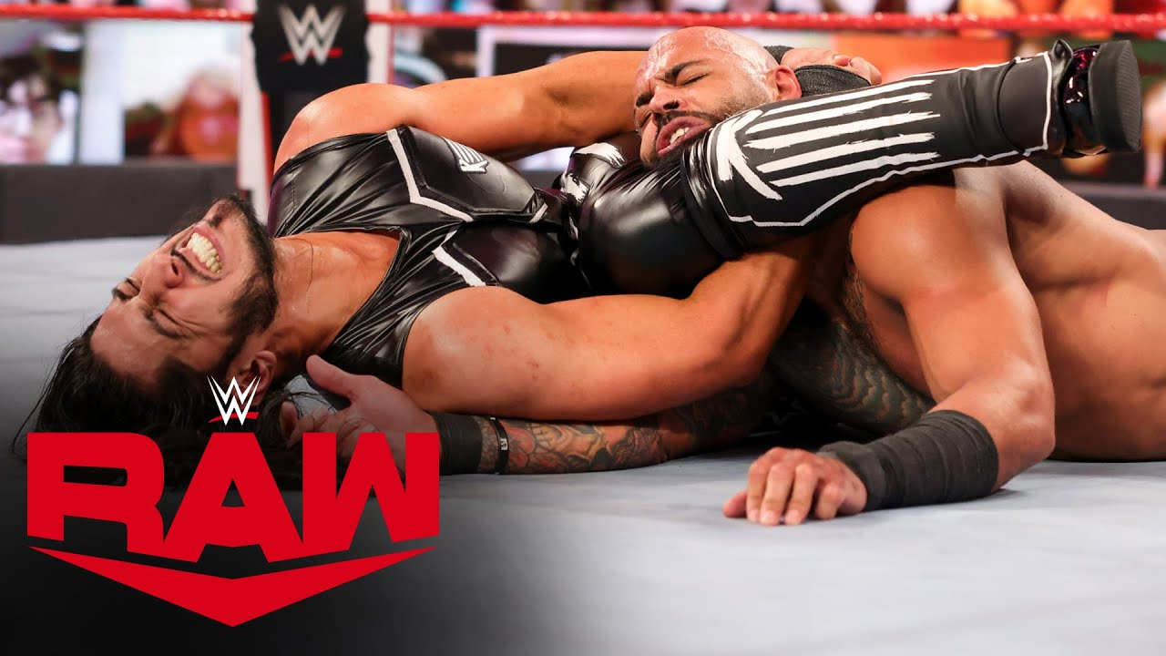 Ricochet vs. Mustafa Ali: Raw, Dec. 28, 2020