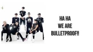 easy lyrics-BTS-we are bulletproof pt.2
