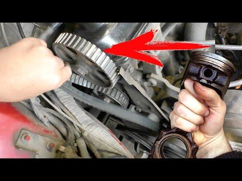 Гнет клапана при обрыве ремня ГРМ или нет. Как быстро проверить