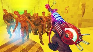 'NEW' STAIRWAY TO HELL REBORN ZOMBIES CHALLENGE!!! (Call of Duty Custom Zombies)