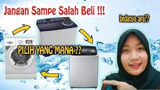 Terlengkap !!!! Perbedaan Mesin Cuci 1 Tabung dan 2 Tabung   Kelemahan dan Kelebihan