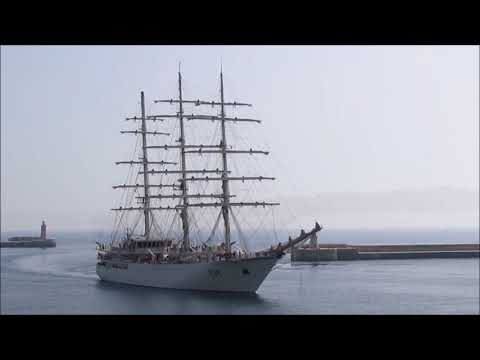 Algerian Navy sailing ship visits Malta ,16 July 2018