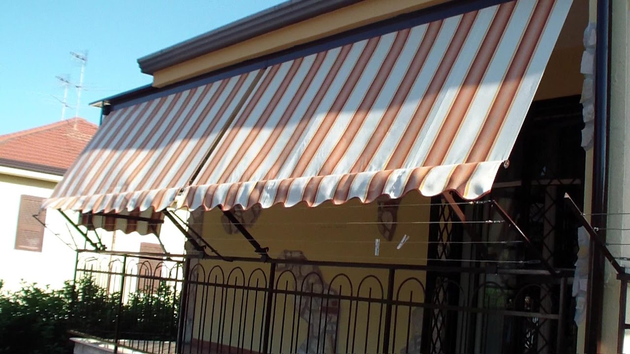 Come INSTALLARE una TENDA da sole-How to INSTALL a AWNING - YouTube