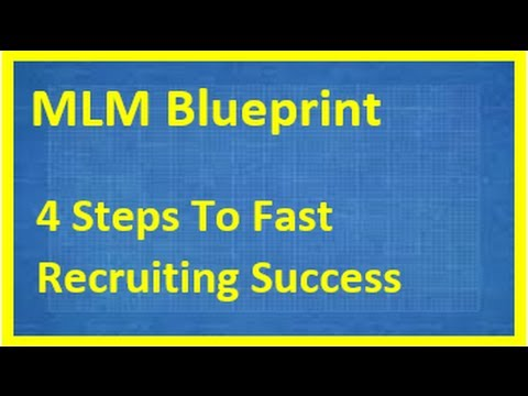 Mlm blueprint become a recruiting machine with this 4 step mlm mlm blueprint become a recruiting machine with this 4 step mlm blueprint youtube malvernweather Image collections